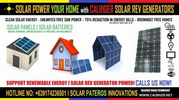 Permalink to: CALRIGER SOLAR SRG